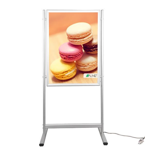 LED LIGHT BOX WITH STAND  25 mm